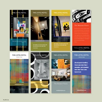 Listel Brochure Covers