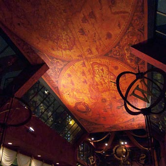 O'Doul's Ceiling Map