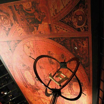 O'Doul's 60 foot wide ceiling mural